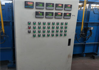Low Carbon Electric Galvanized Wire Machine , Coating Production Line For Steel Wire