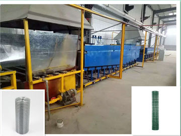 1000m/ Hour Wire Mesh PVC Coating Line For Wire Mesh Products High Capacity